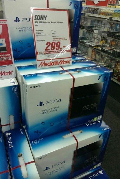 Lokal Dresden: Playstation 4 1TB für 299€ im Mediamarkt ElbePark
