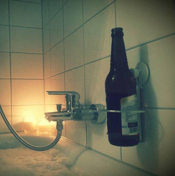 IKEA Seifenspender / Bierflaschenhalter IMMELN für 4,99