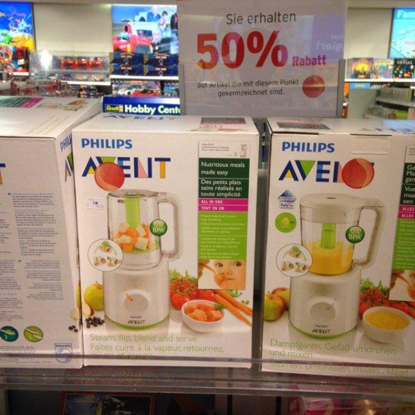 Philips Avent Dampfgarer und Mixer SCF870 für 72,50 Karstadt Ffm
