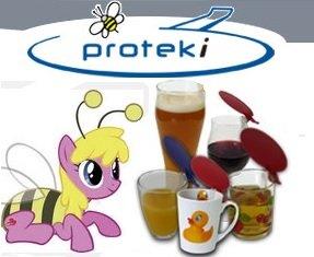 Kostenloser Getränkeschutz Aufsteckdeckel (Proteki)
