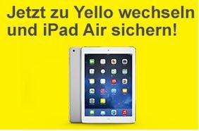 Payback 5000 Punkte + iPad Air bei Abschluss eines Yello Strom Plus oder Yello Gas Plus Vetrages für 24 Monate