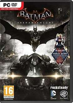 [Steam] Batman: Arkham Knight PC + Harley Quinn DLC + 52 Skin Pack für 10,78€ @ CDKeys