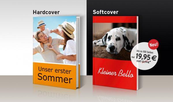 [Tchibo/Fotokasten] Fotobücher A4 (Hard-, Softcover) (100, 152, 200 Seiten)