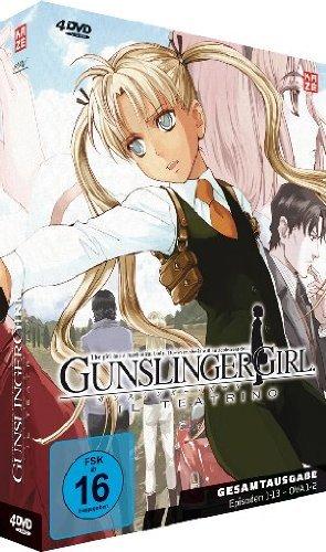 (Anime/WHD) Gunslinger Girl: Il Teatrino - Gesamtausgabe (Episoden 1-13 - OVA 1+2) [4 DVDs]
