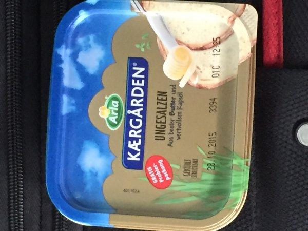 [FF Hbf] Kaergarden ungesalzene Butter 100g