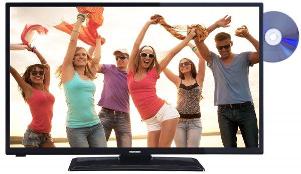 Blitzangebot: Telefunken D32H272I3D 81 cm (32 Zoll) Fernseher (HD-Ready, Triple Tuner, DVD-Player) [Energieklasse A]  @259,99