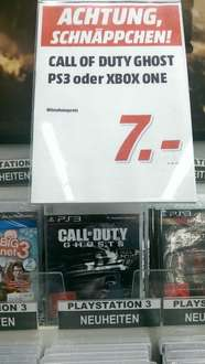 [LOKAL evtl. raum NRW] Call of Duty Ghosts (PS3 od. XBOX One) 7 Euro Media Markt Castrop-Rauxel
