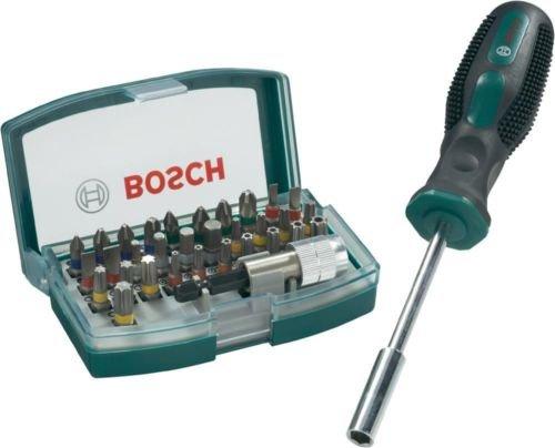 [Ebay Conrad] Elektronikerset 25tlg + Schraubendreherset 7tlg für 11€ & Bosch 33tlg. Bit-Set inkl. Bithalter für 9,99€
