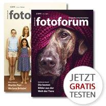 Fotoforum Magazin - 2 Ausgaben gratis testen
