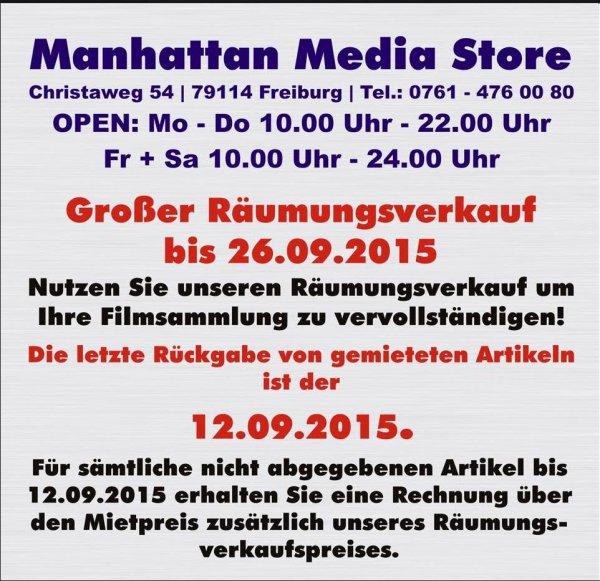 Mediathek Ausverkauf (Freiburg)