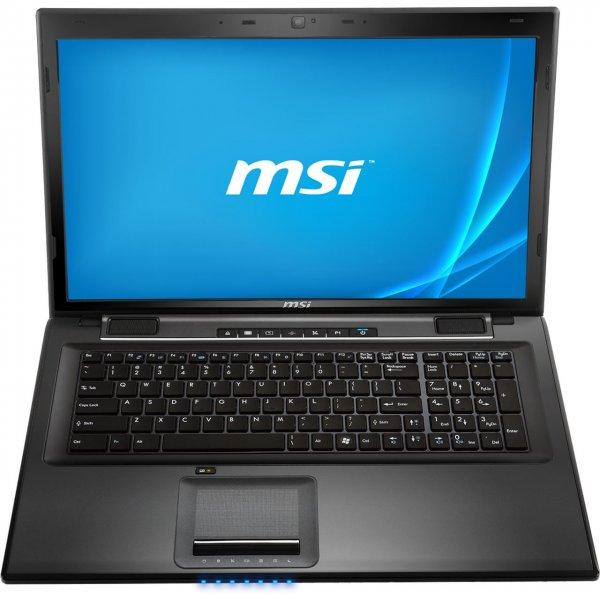 "MSI-Notebook 17,3"" (Intel Core i7 4712HQ Prozessor, 8GB RAM, 1TB HDD , Win 8.1) für nur 671 € statt 770 €, @ZackZack"