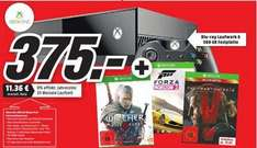 [Lokal] Mediamarkt Erding, Karlsfeld, München XBOX ONE 500GB + The Witcher3 + Forza Horizon 2 + Metal Gear solid 5