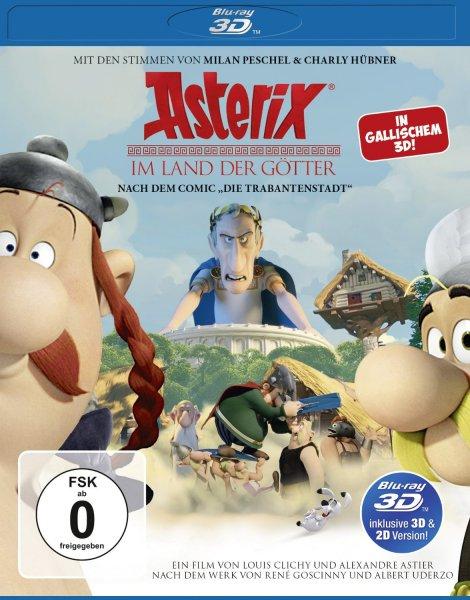 Asterix im Land der Götter (inkl. 2D-Version) [3D Blu-ray] [Prime]