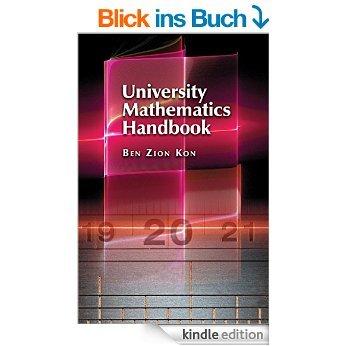 [kindle] University Mathematics Handbook @amazon.de