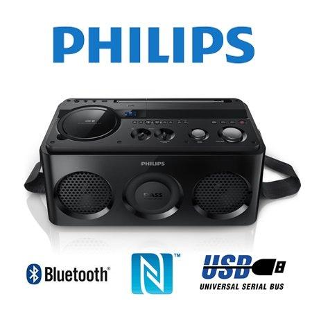 Philips - AZ1/12 Soundmachine mit Bluetooth und NFC