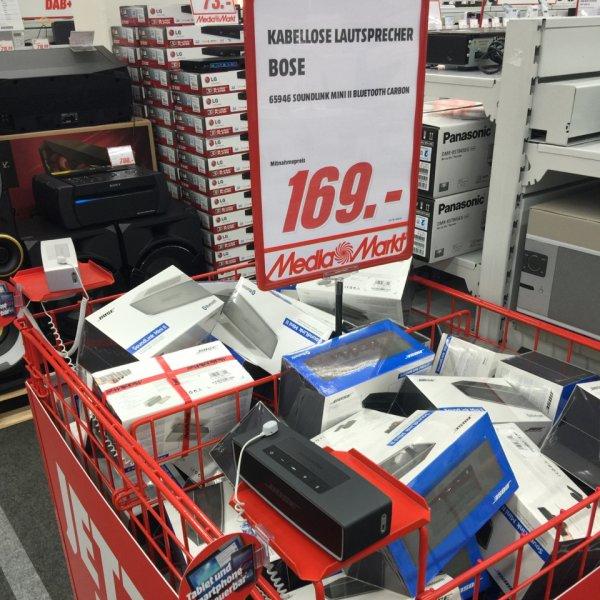 BOSE Soundlink Mini II 169 € statt 199 € bei Media Markt Bochum Ruhrpark