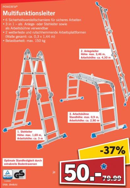 [JENA] LIDL: Powerfix Multifunktionsleiter 3in1 für 50€ // SEM 44 Elektrostimulationsgerät für 10€ // Silvercrest Handmixer SHMSB 300 A1 für 7,00€ (04.-05.09. 08-18 Uhr)