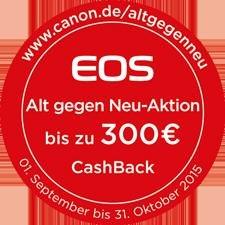 Canon Alt gegen Neu Aktion mit bis zu 300€ Preisvorteil