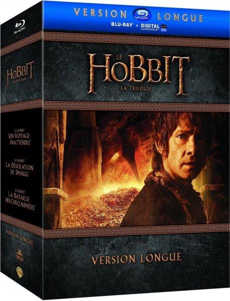 Der Hobbit Trilogie - Extended Edition [Blu-ray] +UV Copy  (O-Ton) inkl. Vsk für 63,29 € > [amazon.fr] > Vorbestellung