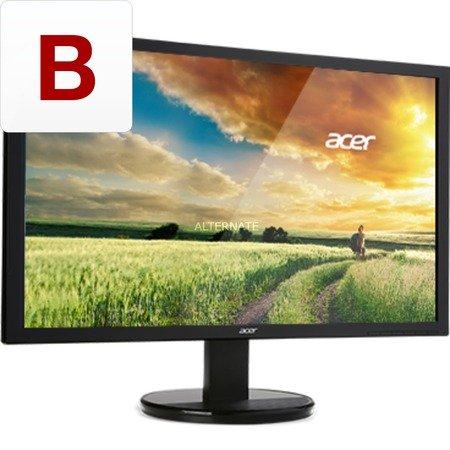 [ZackZack] Acer K242HQKbmjdp 60 cm (24 Zoll) Monitor (DVI, HDMI 2.0, UHD 3.840 x 2.160, 4 ms Reaktionszeit, Lautsprecher, Energie-Effizienzklasse B) schwarz für 319,-€ Versandkostenfrei