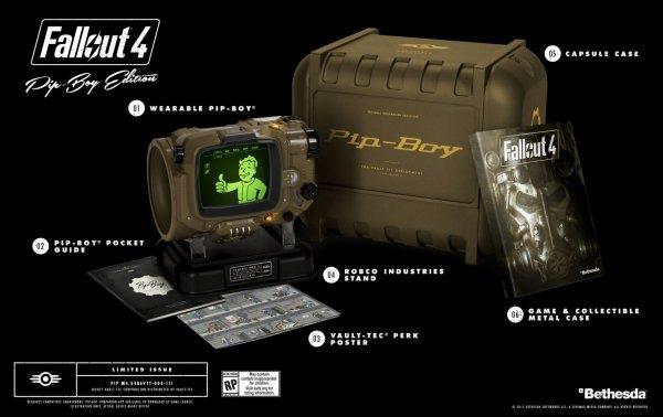 Fallout 4 Pip-Boy Edition bei libro.at (PC, PS4, Xbox One) für 132,60 € (Versand nach D möglich)