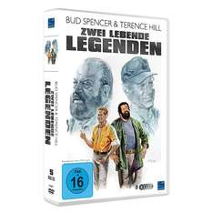 DVD Box Bud Spencer & Terence Hill - Zwei lebende Legenden bei Real [On- und Offline]
