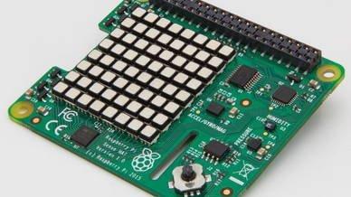 """Sensor Erweiterung für den Raspberry Pi """"Sense Hat"""""""