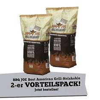 BBQ JOE: Best American Quebracho blanco Holzkohle 2x 5 Kg für 11,99 (Ebay WOW! / Comtech)