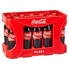 [KRÜMET] CocaCola (verschiedene Sorten) 12x 0,5l - Kiste für 3,99€