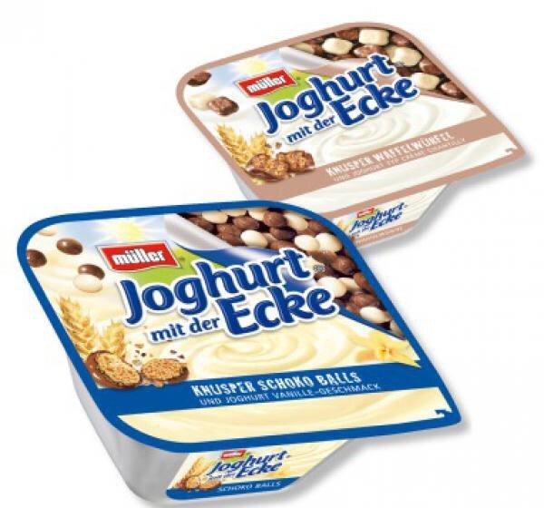 Joghurt mit der Ecke, verschiedene Sorten 0,27€ !! Rewe Dortmund Eichlinghofen