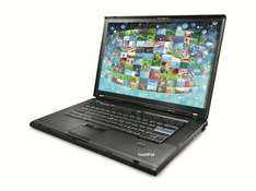 "Notebook LENOVO Thinkpad T500 (15,4"", Win7HP, Refurbished) für 150 € inkl. VSK"