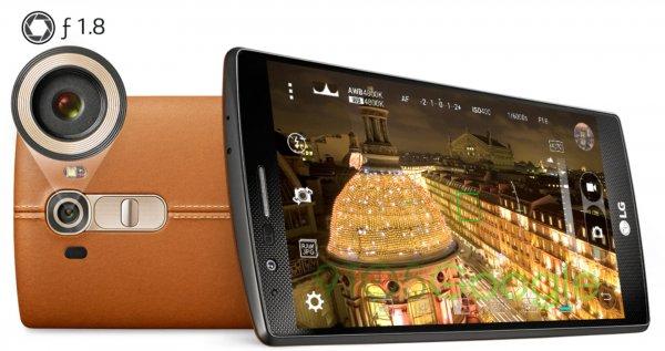 LG G4 32gb - Leder Braun     modeo. de