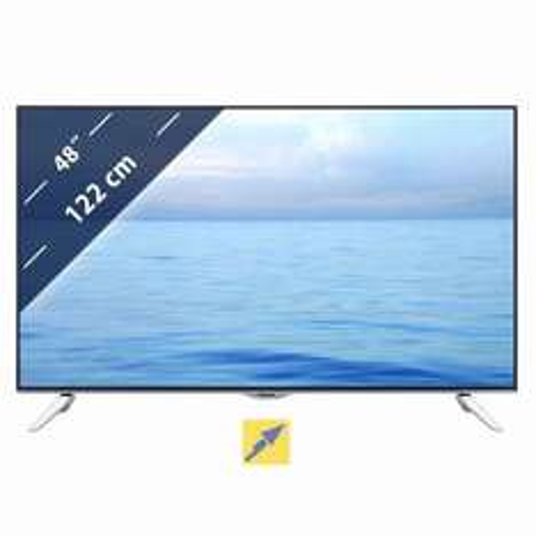 Panasonic TX-48CXW404 Fernseher 121 cm (48 Zoll) 4K UHD 3D LED-TV, Triple Tuner, Smart TV, WLAN, USB-Recording@Technikdirekt