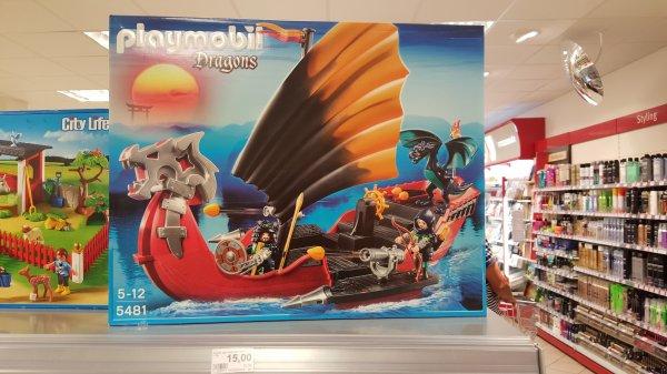 [Lokal Rossmann Köln Poll] Playmobil Drachen-Kampfschiff für 15 € (ca. 55% Ersparnis)