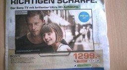 [LOKAL Saturn Koblenz] Sony KD 55 X 8505 CBAEP für 1299,-
