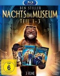 Nachts im Museum 1-3 Collection (Blu-ray) für 20,40€ @Buch.de
