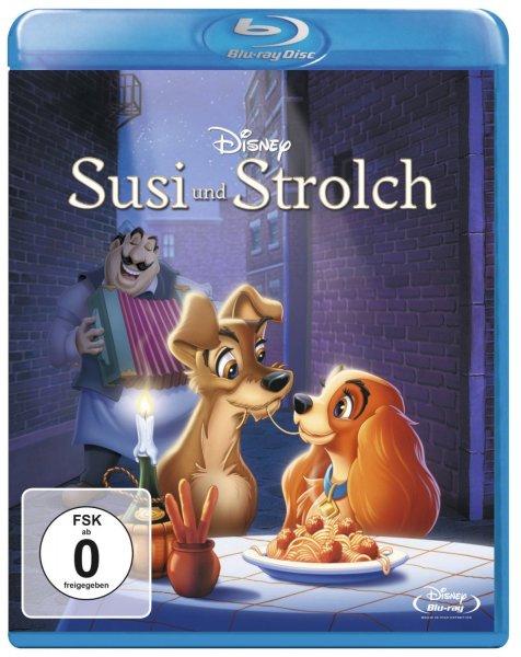 [Amazon Prime] Susi und Strolch Blu-Ray für 7,99€ anstatt 13,33€ und weitere