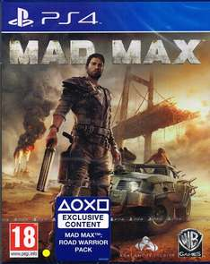 Mad Max PS4 + Road Warrior Pack (PS4-exklusiv) + Gratis Versand nach DE