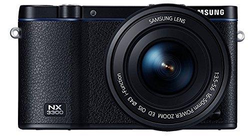 Samsung NX3300 16-50mm Kit (schwarz) für 277€ @Mediamarkt.de - 20 Megapixel Systemkamera