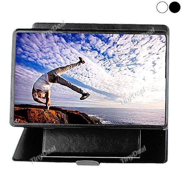 iBigger Multifunktionales Gadget zur Vergrößerung des Displays von Smartphone & kleineren Tablets mit HD Display schwarz / weiß @Tinydeal