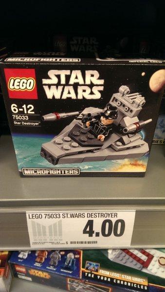 LOKAL Marktkauf Hof -Lego Star Wars - Sternenzerstörer (75033) 4€