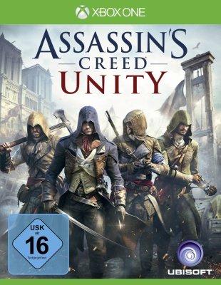 [Xbox One] Assassin's Creed Unity (B-Ware) + Xbox Live 10,- Euro Guthaben für € 21,85