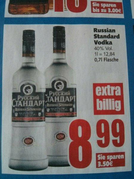 [E-Center Minden-Hannover] Russian Standard Time Vodka 0,7l für 8,99