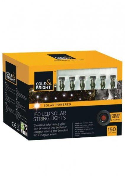 [Amazon-Prime] Gardman  Solar Lichterkette aus, 150 LEDs