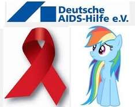 Deutsche AIDS-Hilfe e.V. (Namensschilder, Aufkleber, Postkarten, Poster, Bierdeckel, Kondometer etc)