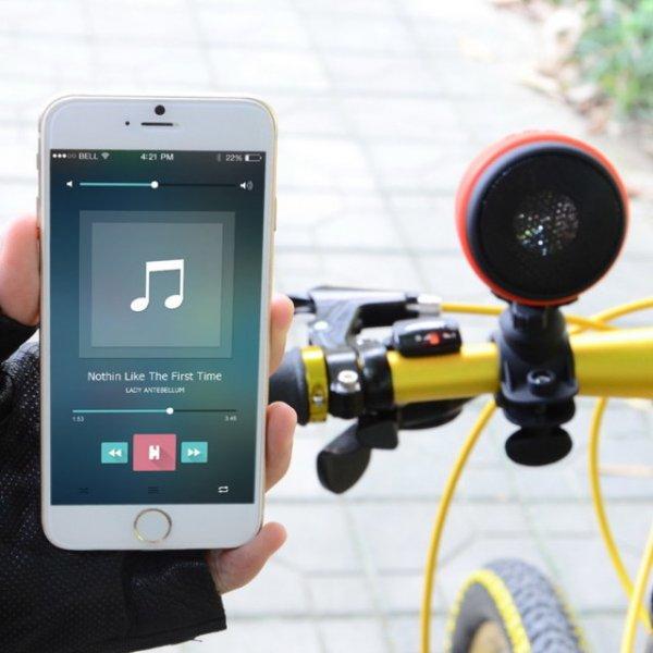 MA-861 Outdoor Sport Lautsprecher, aufladbar, Bluetooth V3.0, Stangengriff, Mic, @allbuy