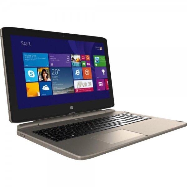 [Conrad] Medion S6413T Convertible (15,6'' FHD IPS Touch, Intel i3-4030U, 4GB RAM, 64GB SSD, 500GB HDD, 6-7h Akkulaufzeit, Touch Pen, Win 8.1 -> Win 10) für 389€