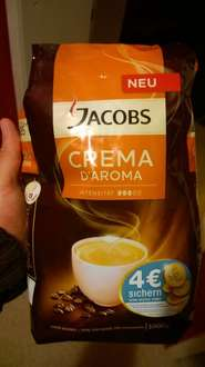 penny bundesweit jacobs crema d'aroma 2KG bohnen 7€