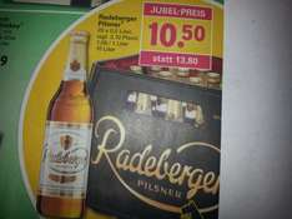 [Netto mit Hund] Radeberger Pilsner 10,50€