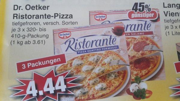 (Lokal Alzenau) 3 x Ristorante Pizza für 4,44 Euro (Stück 1,48 Euro)